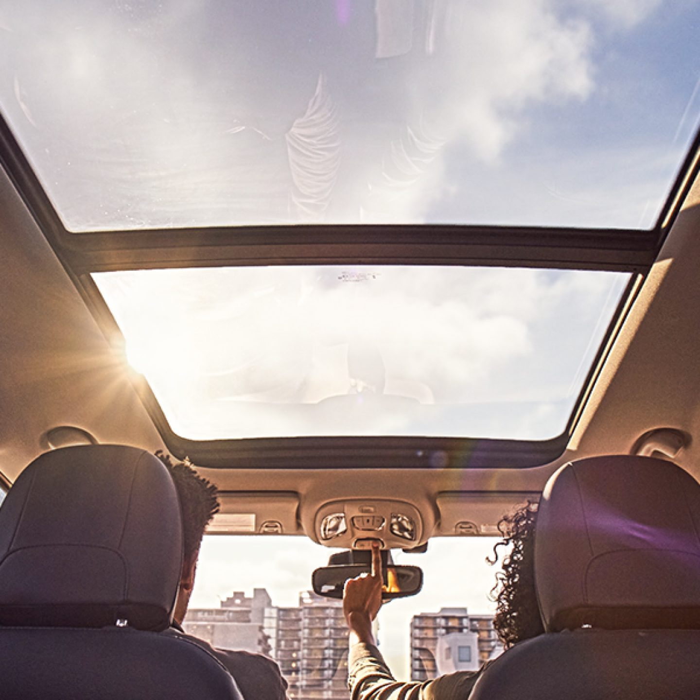 Dual-Pane Sunroof