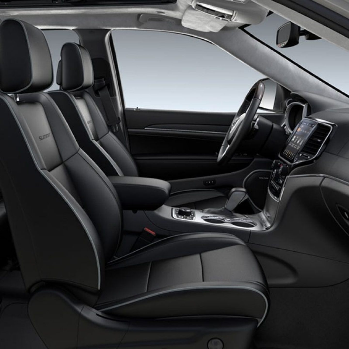All-New Signature Leather-Wrapped Interior Package