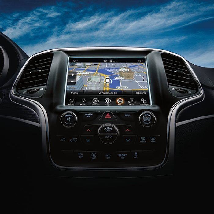 Uconnect® 8.4-inch Touchscreen with Navigation
