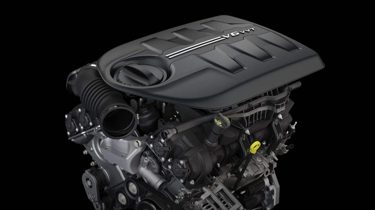 Standard 3.2L Pentastar® V6 Engine with Best-in-Class Towing