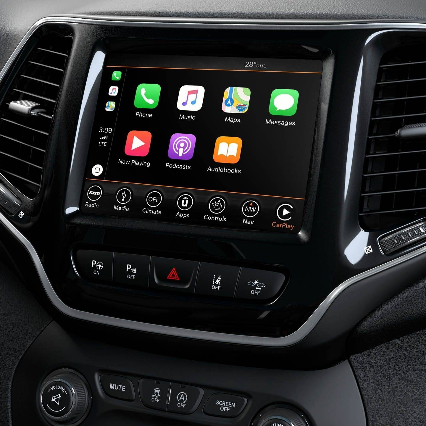 Uconnect® With 8.4-Inch Touchscreen Featuring Apple CarPlay® Support And Android Auto™